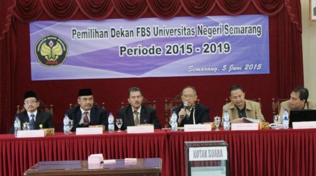 Prof  Agus Nuryatin Peroleh  83% Suara