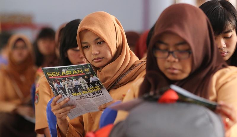 Jelang SNMPTN, Sejumlah Mahasiswa Berinisiatif Gelar Sosialisasi