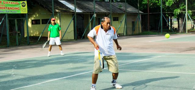 Meriah, Pertandingan Tenis Antarsub-Unit Unnes