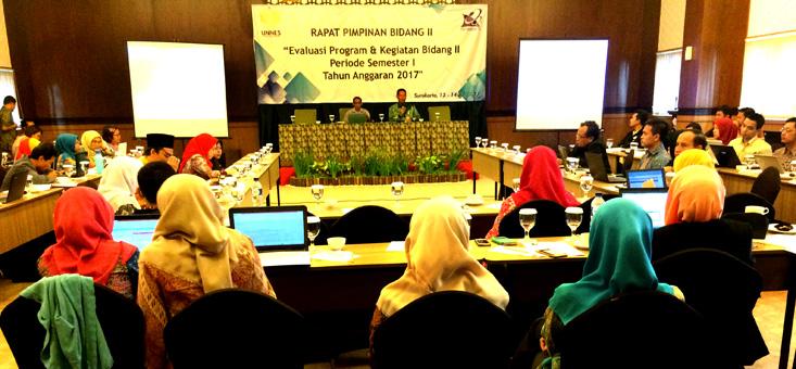 Rapat Pimpinan Bidang II Semester I Tahun 2017