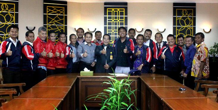 Tim LPTK Cup UNNES Pamitan Rektor, Buat se-Happy Mungkin