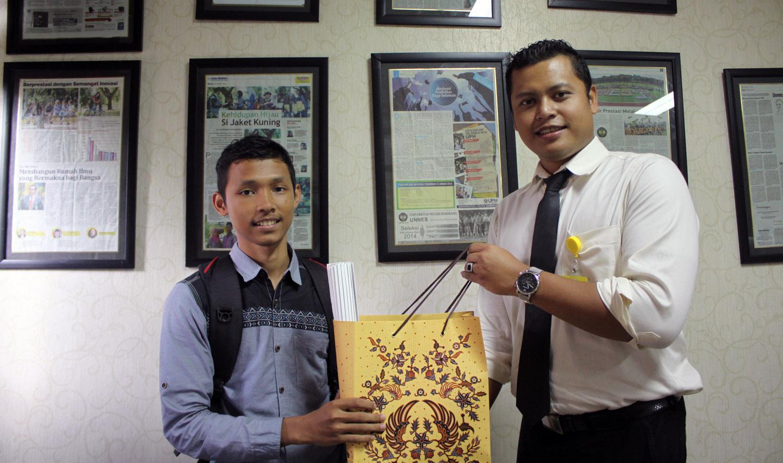 Mokh Khasan Bisri Pemenang Lomba Komentar UNNES