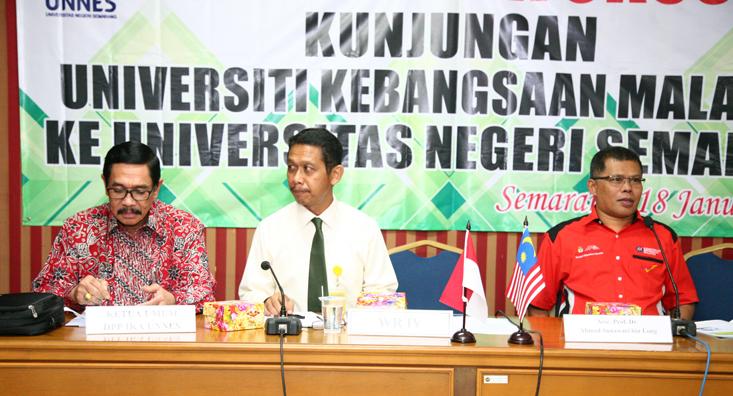 Ikatan Alumni Universiti Kebangsaan Malaysia (UKM) Kunjungi IKA Unnes