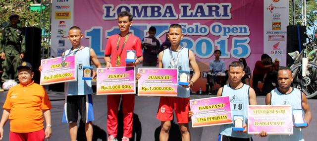 Menwa Unnes Raih Juara II dan III Lari 11 K Tingkat Nasional