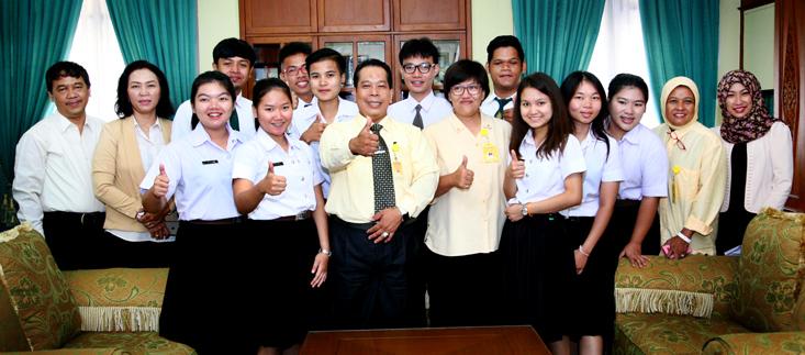 Wujudkan Universitas Bertarap Internasional, Mahasiswa Dua Perguruan Tinggi Thailand Kuliah di Unnes