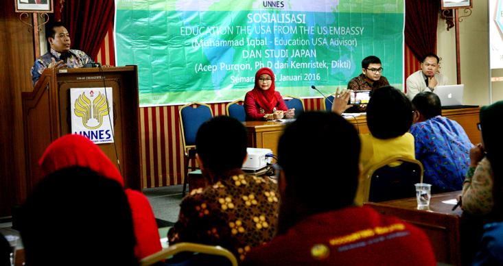 Unnes Dorong Dosen Studi Lanjut, Wujudkan Universitas Mendunia