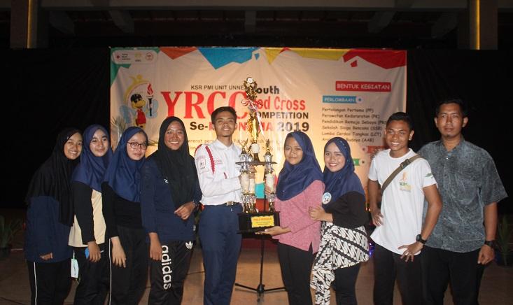 SMA Unggulan PMS Kendal Sabet Juara Umum YRCC 2019 KSR PMI Unit UNNES