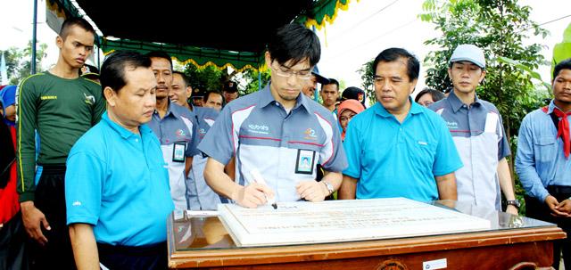 PT Kubota-Unnes Tanam 1.972 Pohon Tanjung