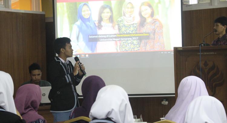 Siswa SMA Islam Cendekia Nganjuk Antusias Gali Info Jadi Mahasiswa UNNES