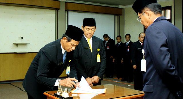 Dr Hartono Ketua LP3, Abdurrahman MPd Sekretaris