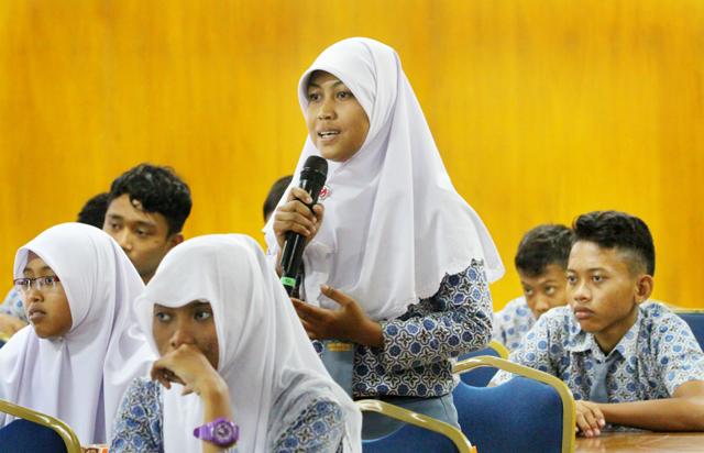 Ingin Masuk Unnes, Siswa SMA 1 Warureja Audiensi Langsung
