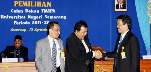 Prof Wiyanto Memenangi Pemilihan Dekan FMIPA