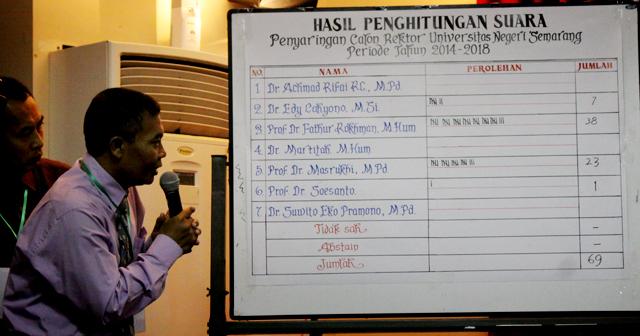 Sidang Senat Lancar, Inilah 3 Calon Rektor yang Lolos Penyaringan