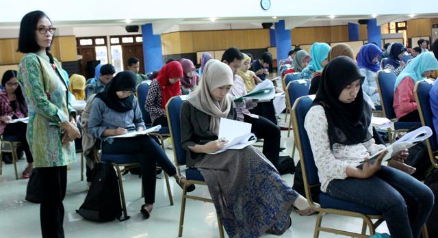 Perebutkan 39 Formasi, 189 Orang Ikuti Tes Pramubakti