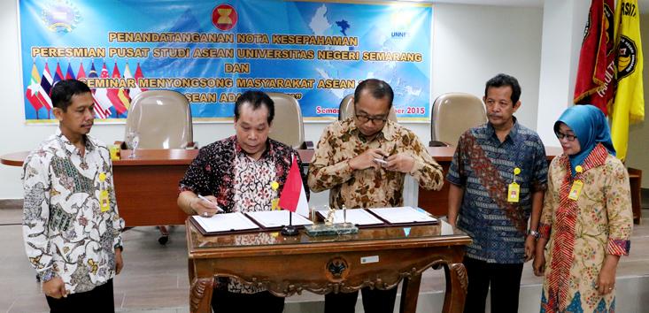Unnes Resmikan Pusat Studi ASEAN