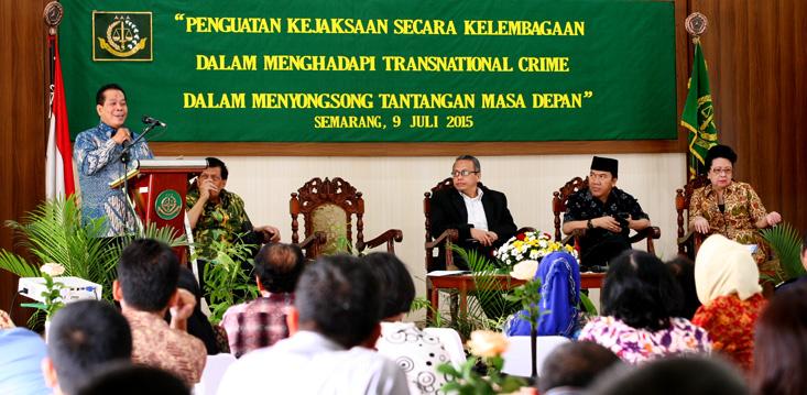 Prof Fathur: Ada Tiga Komponen Penguatan Kejaksaan Menghadapi Transnational Crimes