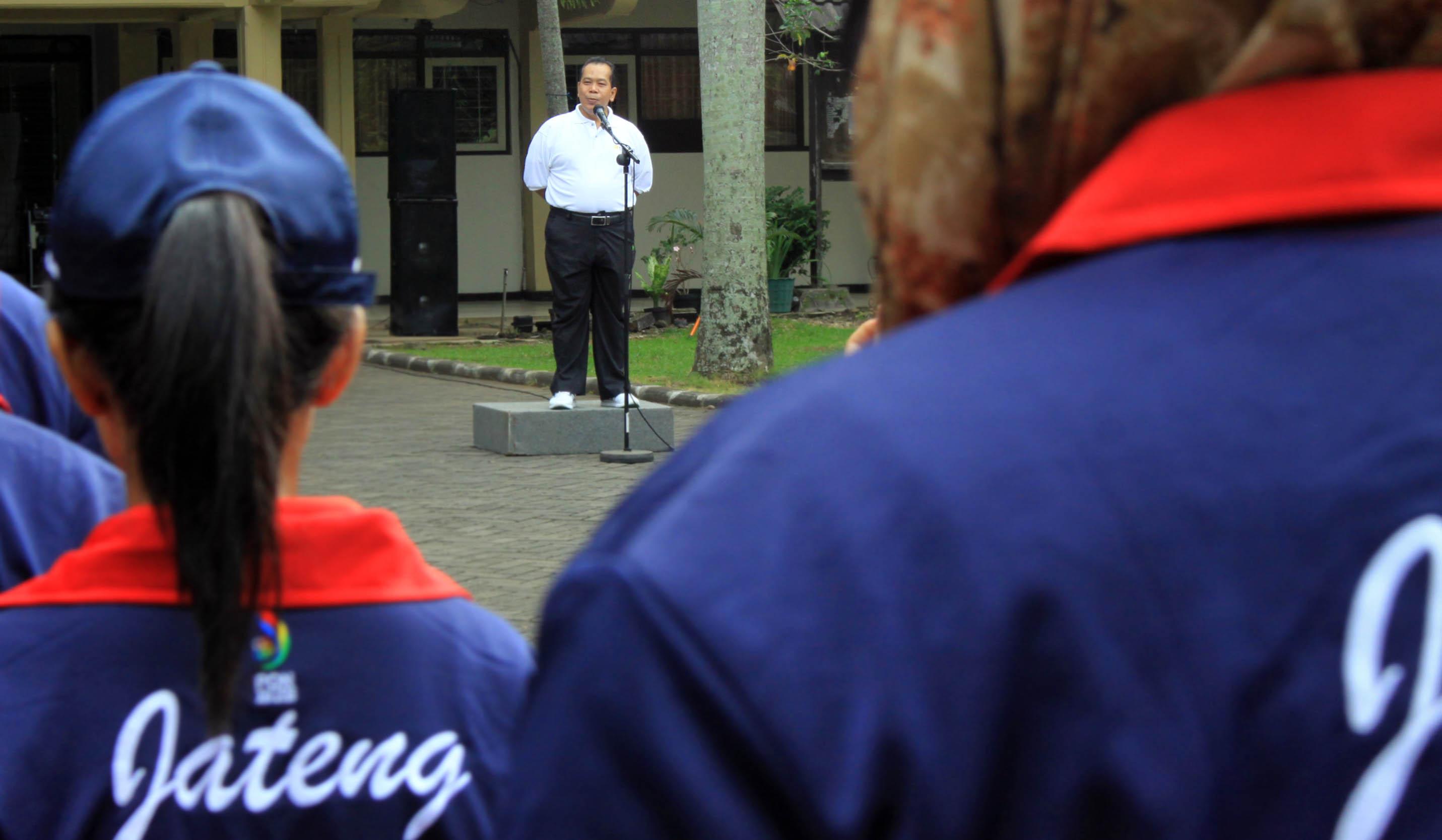 Rektor UNNES Optimis, 94 Atlet Ukir Prestasi Pada PON