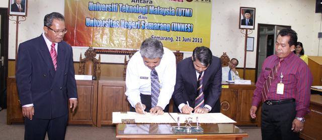Unnes Kerja Sama dengan UTM Malaysia