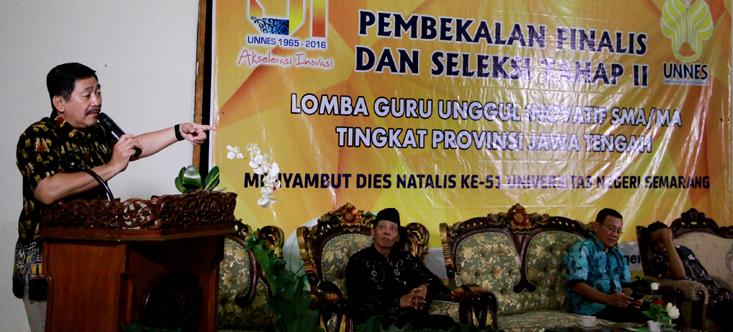 LP3 Unnes Selenggarakan Seleksi final Tahap II Lomba Guru SMA/MA se-Jateng