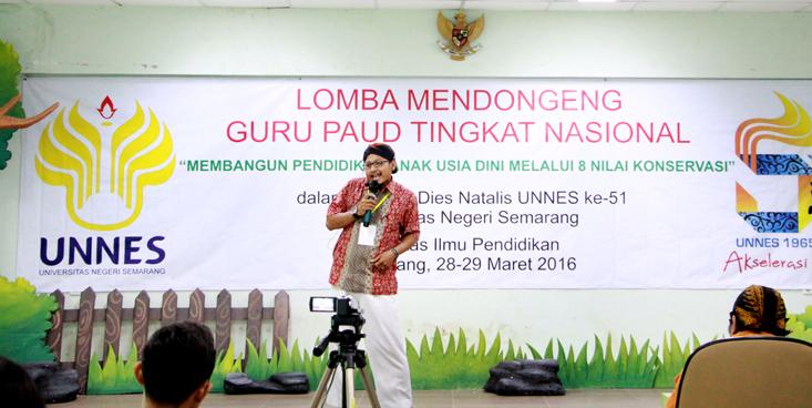 Semarakan Dies Natalis, FIP Unnes Selenggarakan Lomba Mendongeng