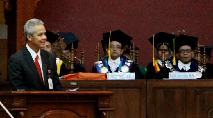 """Besok, Ganjar Pronowo """"Mulang Basa Jawa"""" di Unnes"""