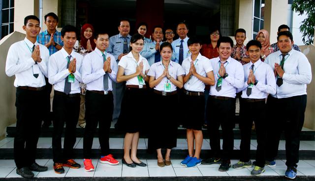 9 Mahasiswa Thailand Kuliah DI UNNES