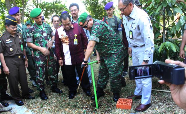 Lestarikan Lingkungan, Kodam IV Diponegoro Buat Ribuan Biopori