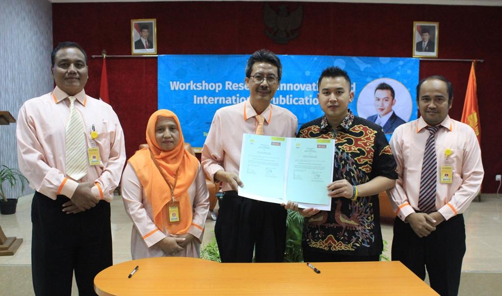 Pacu Publikasi,  FT Adakan Workshop Research Innovation and International Publications
