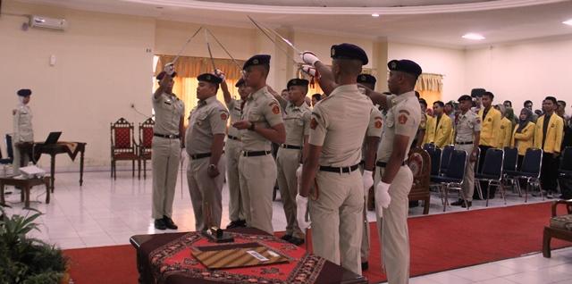 Sertijab Komandan Menwa Mahadipa Batalyon 902 Unnes