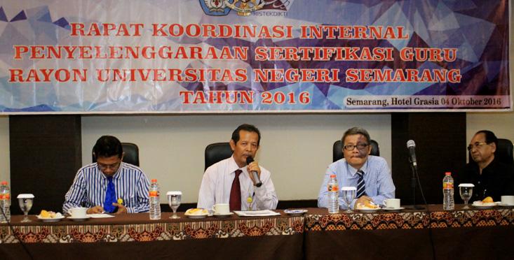 Ketua Rayon 112 UNNES Kerjasama dengan Ketua Subrayon 139 UPGRIS dan Ketua Subrayon 140 UMP