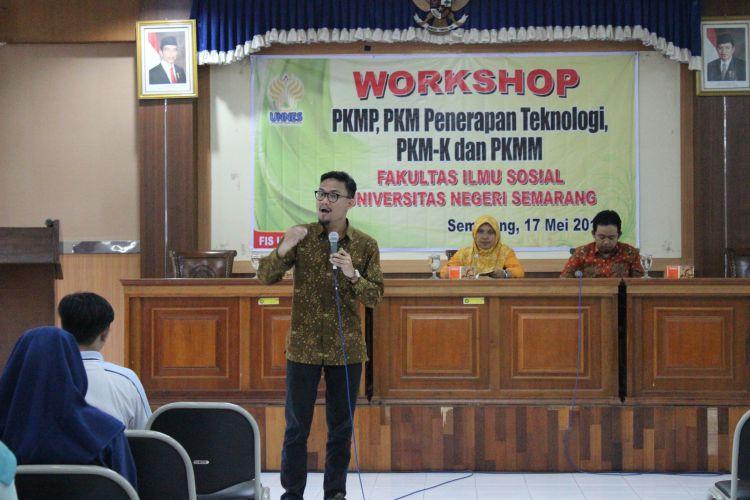 Dorong Reputasi, FIS UNNES Selenggarakan Workshop PKM
