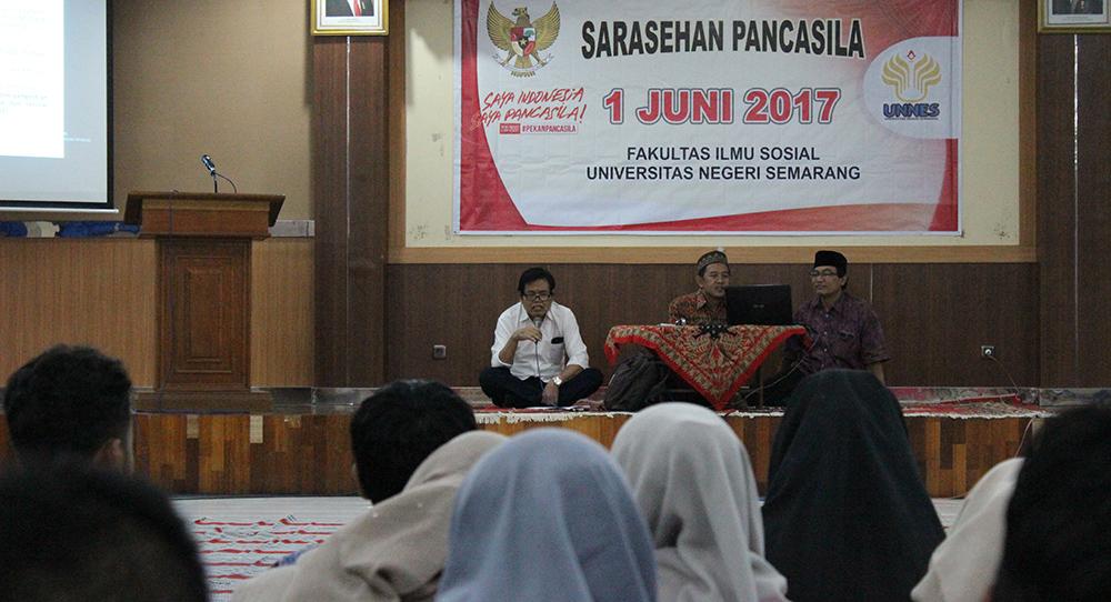 Fakultas Ilmu Sosial UNNES Selenggarakan Sarasehan Pancasila
