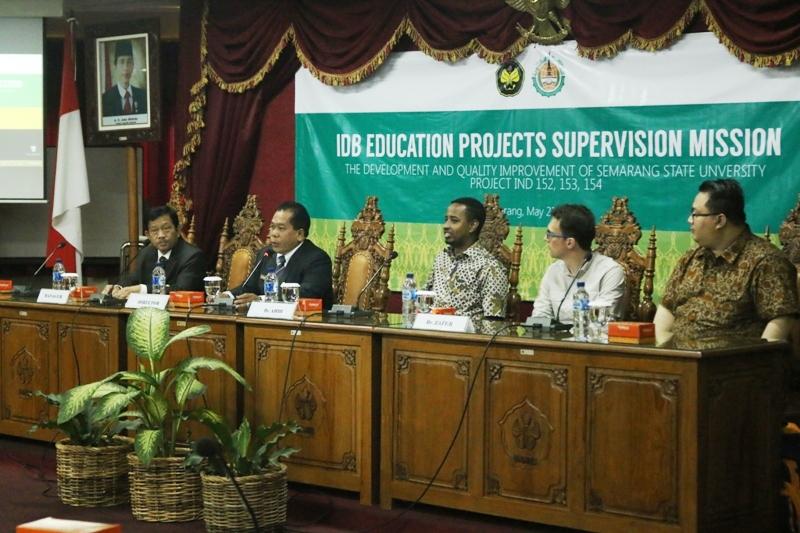 IDB Pantau Proyek di Unnes