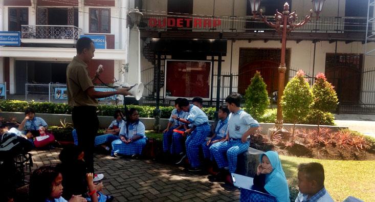 SD Labschool UNNES Jelajahi Sejarah Kota Semarang