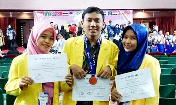 Mahasiswa UNNES Juara Internasional
