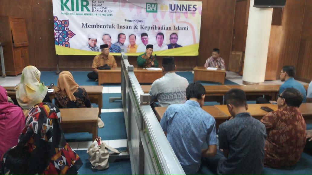 Rektor UNNES: Jadikan KIIR sebagai Sarana Pembawa Berkah bagi UNNES