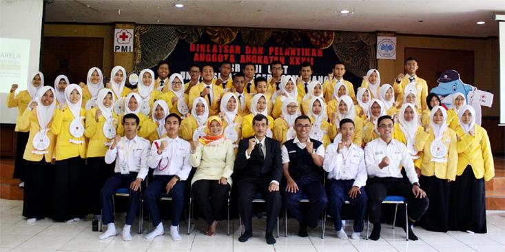 Diklatsar dan Pelantikan Anggota Angkatan XXXII KSR PMI Unit UNNES