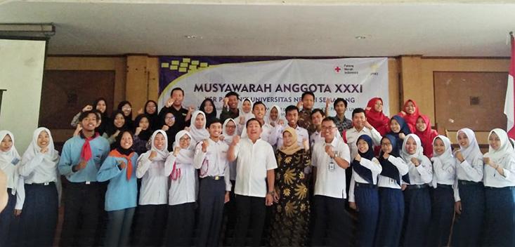 Musyawarah Anggota, Lutfiana Qoni'atin Terpilih Ketua KSR PMI Unit UNNES 2020
