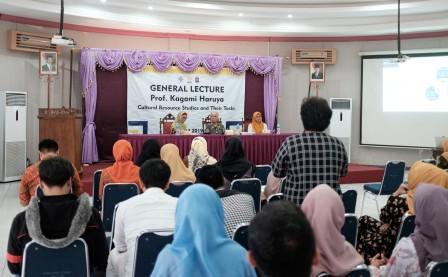 General Lecture 2019 Hadirkan Prof Kagami Haruya