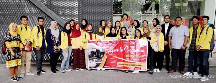 Mahasiswa FH UNNES Pelajari Hukum di Abdur Rahman Law Corporation (ARLC) Singapore,