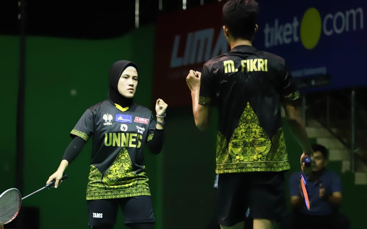UNNES Dominasi Kategori Perseorangan Liga Mahasiswa Badminton Central Java Season 8