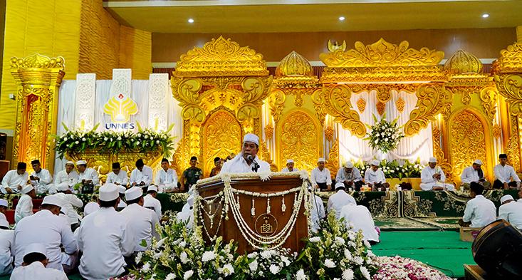 UNNES Berdzikir, Unggul Bersama Ulama dan Santri Untuk Indonesia Maju