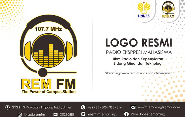 Radio Ekspresi Mahasiswa UNNES Kenalkan Logo Baru