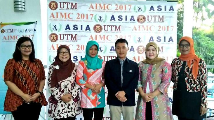 Enam Dosen FMIPA UNNES Presentasi di Asia International Multidisciplinary Conference UTM Malaysia