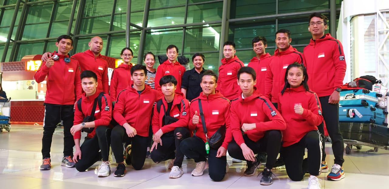 Gabung di Timnas Wushu, Tiga Mahasiswa UNNES Bela Merah Putih di Sea Games 2019