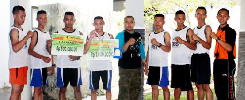 Menwa Unnes Juara III Lomba Lari Nasional