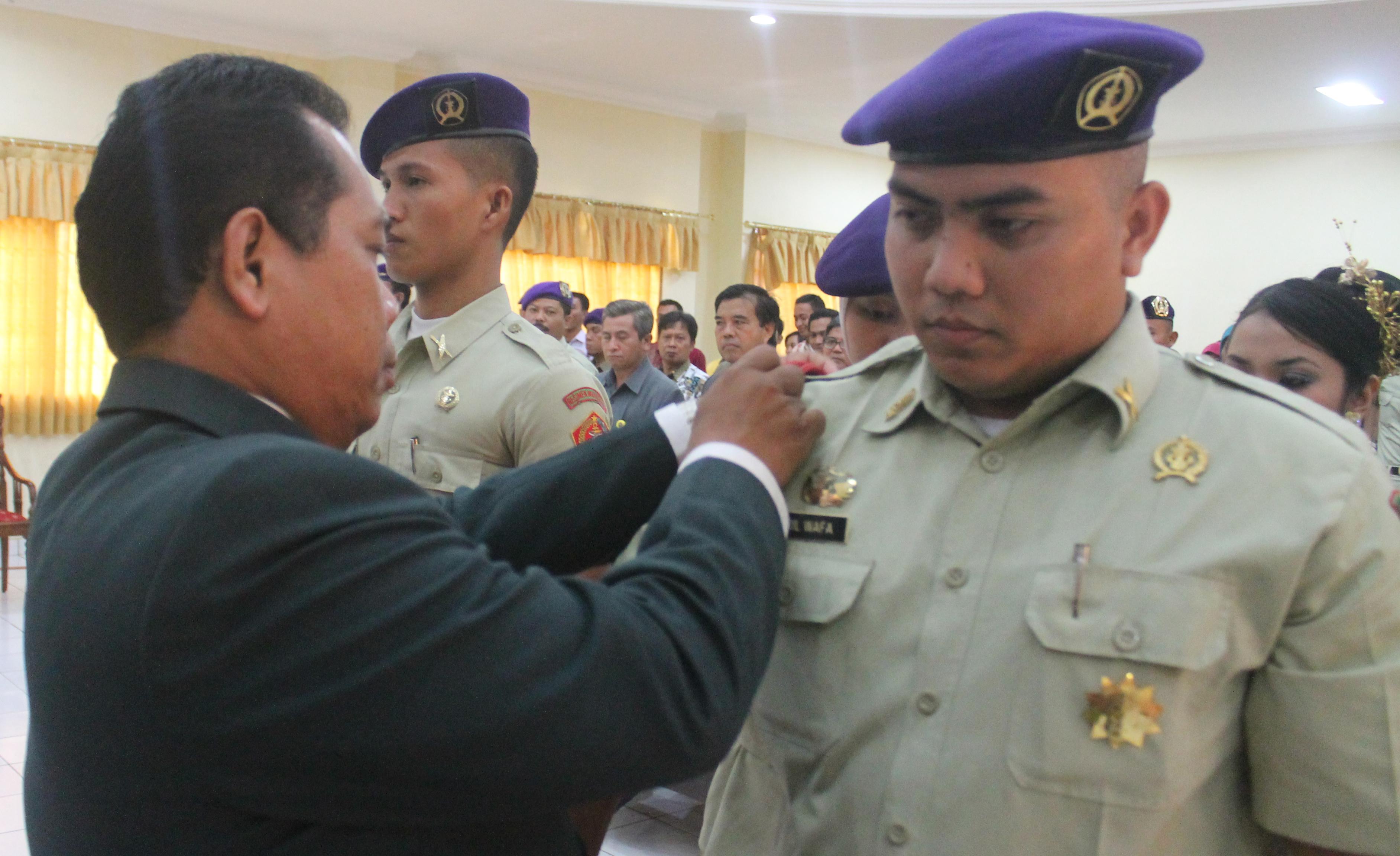 Sirril Wafa, Komandan Menwa Unnes 2014