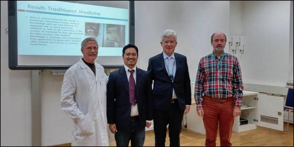 "Teliti ""Belian"", Fadly Husein Lulus Doktor dari Austria"