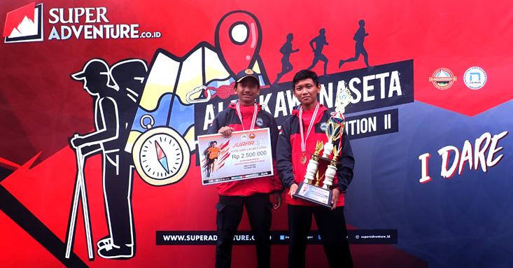 Mahapala UNNES Juara Lomba Orienteering Tingkat Nasional