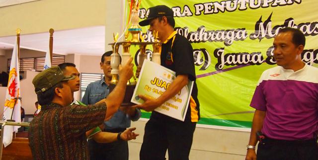 UNS Raih Medali Terbanyak di Pomda Jateng